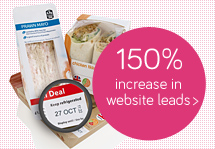 150% increase in website leads