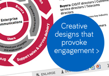 Creative designs that provoke engagement