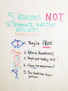 5 Reasons NOT to Terminate Inactive Affiliates