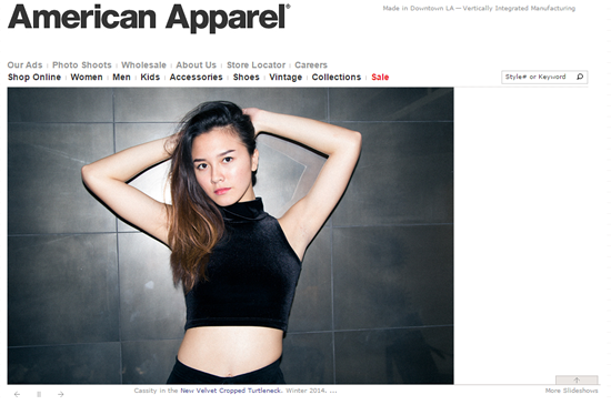 digital strategy fail american apparel