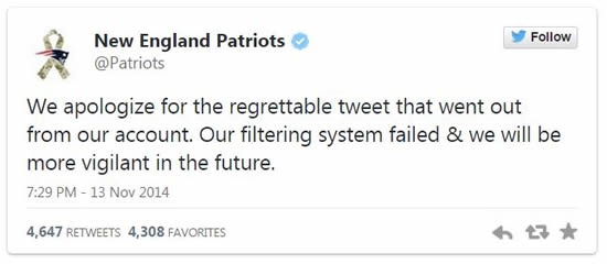 digital strategy fail new england patriots