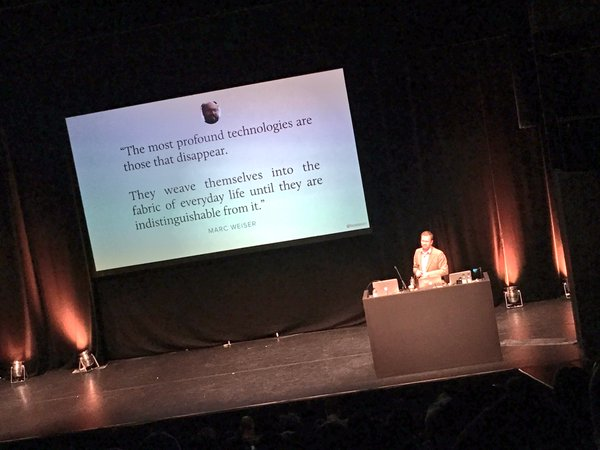 Ben Sauer at UX London 2016