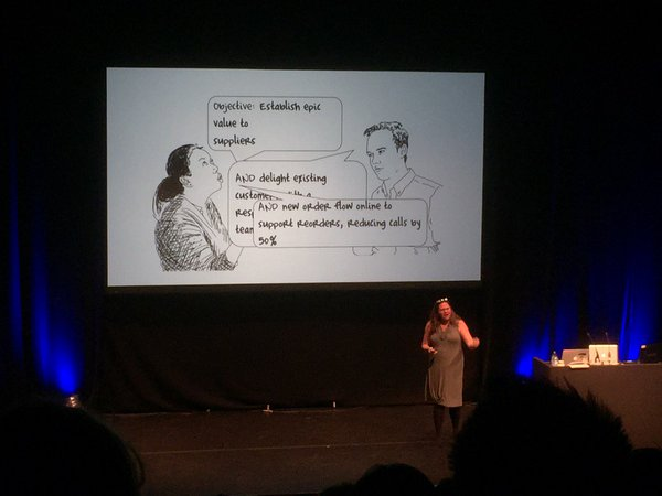 Christina Wodtke at UX London 2016