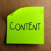 content posted note small