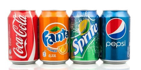 Can of drinks