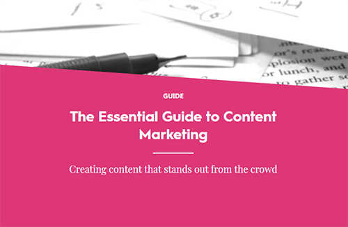 Content Marketing Guide Cover