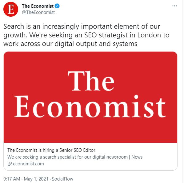 The Economist Tweet