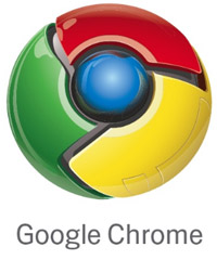 Screenshot of Google Chrome logo