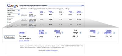 Image of Google Merchant Search