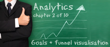 Google Analytics - goals and funnel visualisation