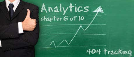 Google Analytics - 404 Tracking