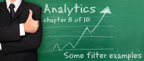 Analytics 8 - some filter examples