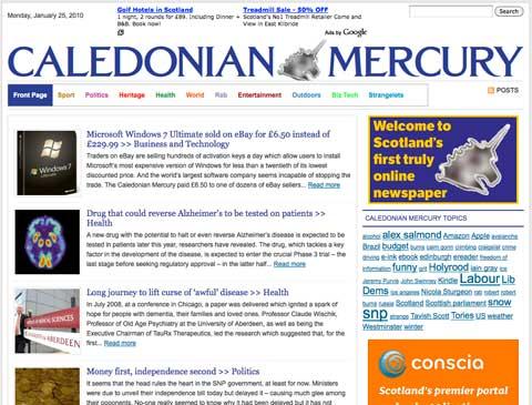 Caledonian Mercury
