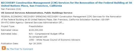 Federal Building Project